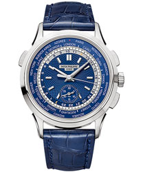 Patek Philippe World Time Chronograph Men's Watch Model 5930G-001