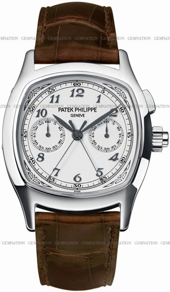 Patek Philippe Split Seconds Chronograph Mens Wristwatch Model: 5950A