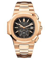 Patek Philippe Nautilus Mens Wristwatch Model: 5980-1R-001