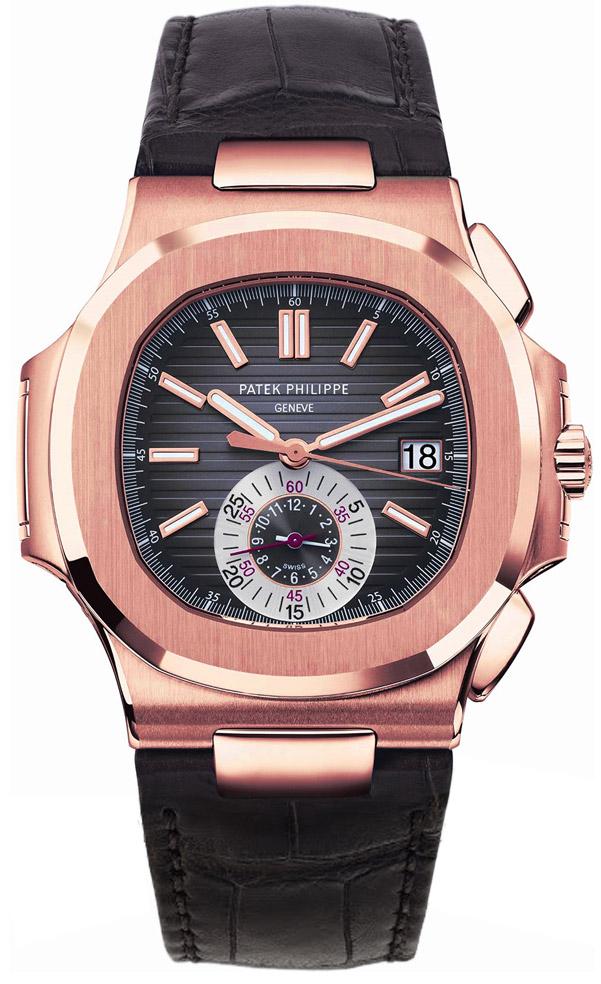 Patek philippe nautilus men 39 s watch model 5980r 001 for Patek philippe nautilus