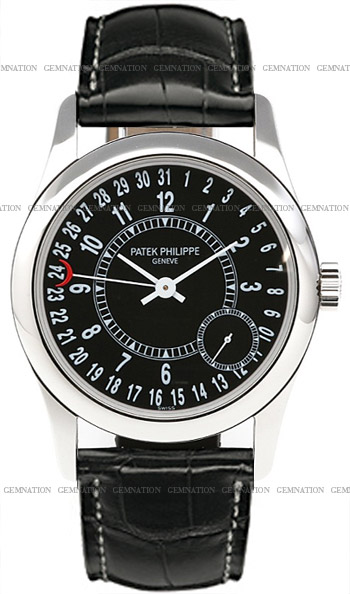 Patek Philippe Calatrava Mens Wristwatch Model: 6000G