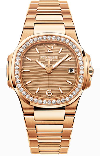 Patek Philippe Nautilus Ladies Watch Model 7010-1R-012