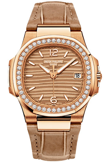 Patek Philippe Nautilus Ladies Watch Model 7010R-012