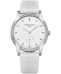 Patek Philippe Calatrava Ladies Watch Model 7122-200G-001