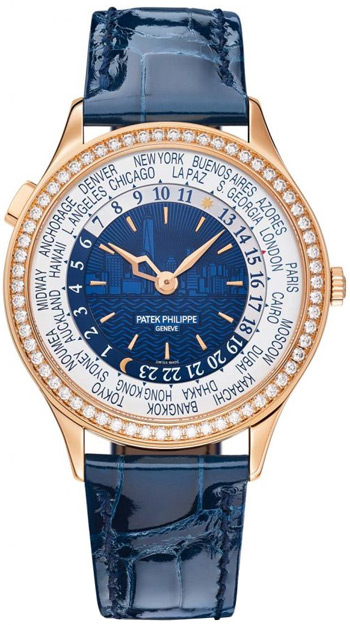 Patek Philippe New York 2017 Limited Edition Ladies Watch Model 7130R-012