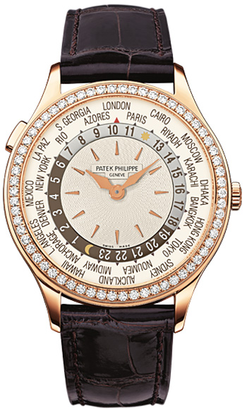 Patek Philippe Complicated  Ladies Watch Model 7130R