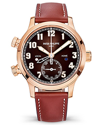 Patek Philippe Calatrava Pilot Travel Time Ladies Watch Model: 7234R-001