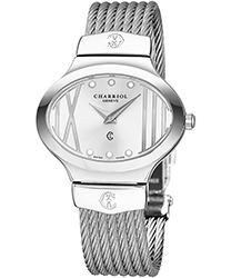 Charriol Darling Oval Ladies Watch Model: OVAL541OV004