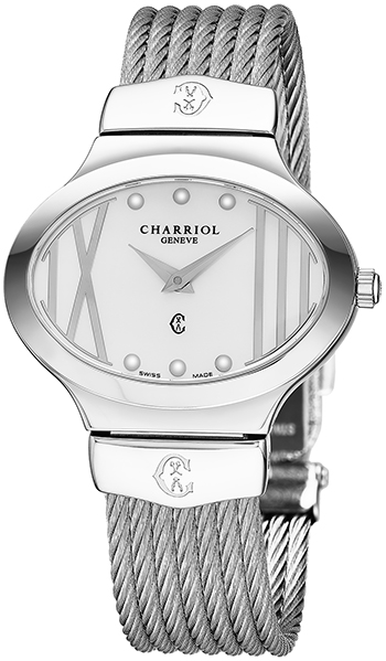 Charriol Darling Oval Ladies Watch Model OVAL541OV005