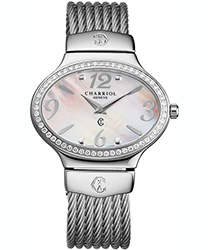 Charriol Darling Oval Ladies Watch Model OVALD1541OV001