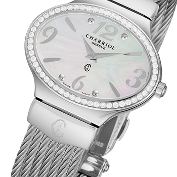 Charriol Darling Oval Ladies Watch Model OVALD1541OV003 Thumbnail 3