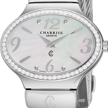 Charriol Darling Oval Ladies Watch Model OVALD1541OV003 Thumbnail 2