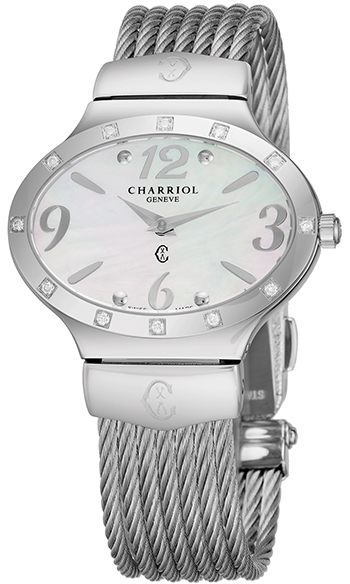 Charriol Darling Oval Ladies Watch Model OVALD541OV003