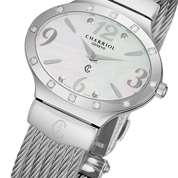 Charriol Darling Oval Ladies Watch Model OVALD541OV003 Thumbnail 3