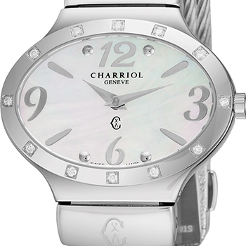 Charriol Darling Oval Ladies Watch Model OVALD541OV003 Thumbnail 2