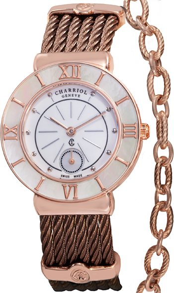 Charriol St Tropez Ladies Watch Model ST30PW.563.004