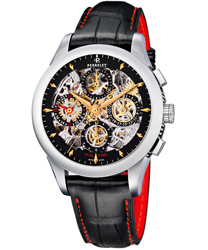 Perrelet Chronograph Skeleton GMT Men's Watch Model A1010.9