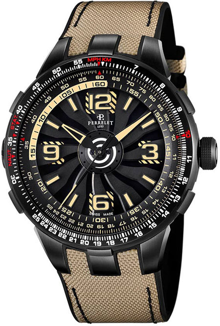 Perrelet Turbine Men's Watch Model A1096.1 Thumbnail 2