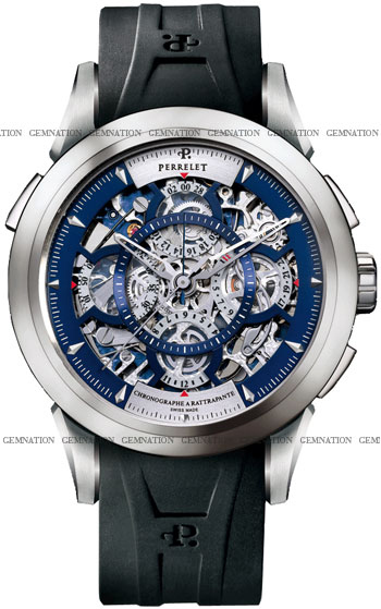 Perrelet Skeleton Chronograph Men's Watch Model A1827.2CO