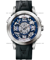 Perrelet Skeleton Chronograph Mens Wristwatch