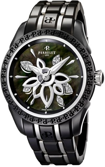 Perrelet Diamond Flower Ladies Watch Model A2039.B