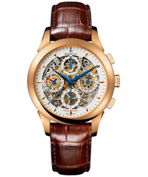 Perrelet Chronograph Skeleton GMT Men's Watch Model A3007.7