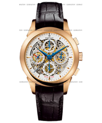 Perrelet Chronograph Skeleton GMT Mens Wristwatch