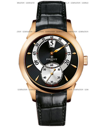 Perrelet Classic Jumping Hour Mens Wristwatch