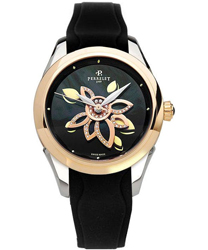 Perrelet Diamond Flower Ladies Wristwatch Model: A3015.C