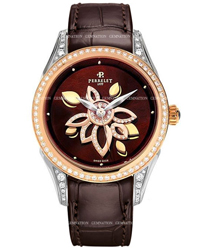 Perrelet Diamond Flower Ladies Wristwatch Model: A3017.2