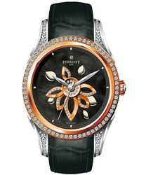Perrelet Diamond Flower Ladies Wristwatch Model: A3017.3