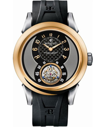 Perrelet Flying Tourbillon Mens Wristwatch