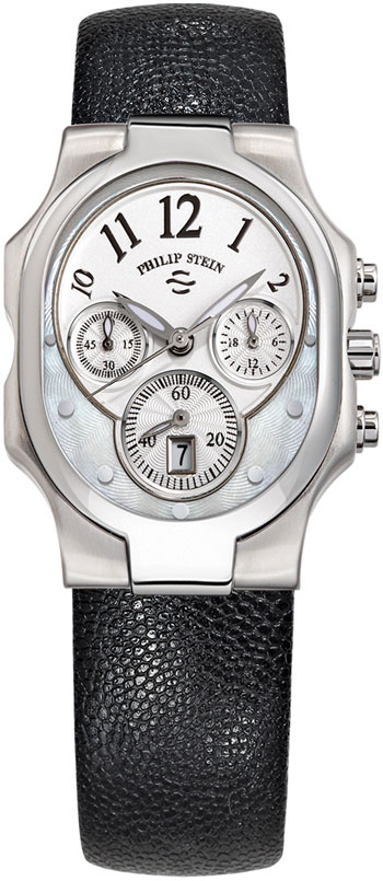Philip Stein Signature Classic Chronograph Ladies Wristwatch Model: 22-FMOP-CPB