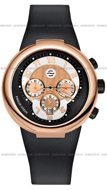 Philip Stein Active Chronograph Unisex Watch Model 32-ARG-RBB