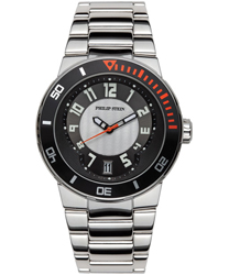 Philip Stein Active Extreme Unisex Wristwatch Model: 34-BGR-SS