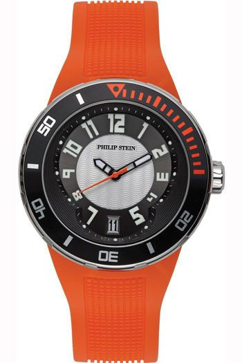 Philip Stein Active Extreme Unisex Watch Model 34-BRG-RO