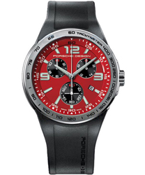 Porsche Design Flat Six Chronograph Men's Watch Model: 6320.41.84.1168