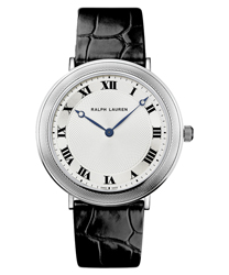 Ralph Lauren Slim Classique Platinum Men's Watch Model RLR0114700