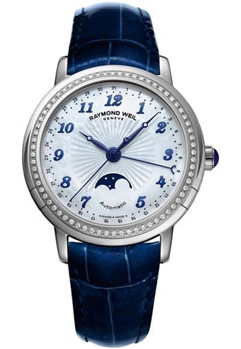 0b02539d1 Raymond Weil Maestro Moonphase Ladies Watch Model: 2739-LS3-05909