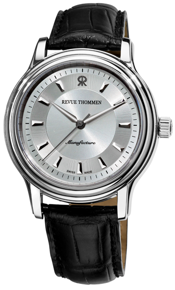 Revue Thommen Automatic Classic Mens Wristwatch Model: 12200.2538