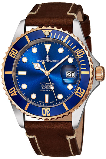 Revue Thommen Diver Men's Watch Model 17571.2555