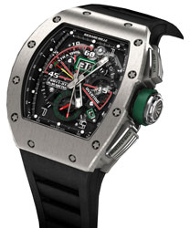 Richard Mille RM 011 Roberto-Mancini Mens Watch Model RM011-01