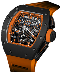 Richard Mille RM 011 Mens Watch Model RM011-Orange-Storm