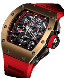 Richard Mille RM 011 Mens Watch Model RM011-Red-Demon