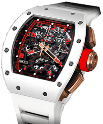 Richard Mille RM 011 Mens Watch Model RM011-White-Demon