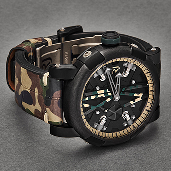 Romain Jerome Steampunk Men's Watch Model RJTAUSP.007.02 Thumbnail 3
