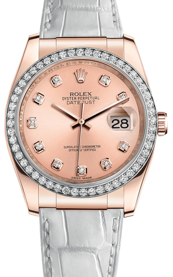 Rolex Datejust Ladies Watch Model 116185-0008