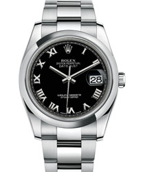 Rolex Datejust Men's Watch Model 116200-BLKRO