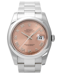 Rolex Datejust Mens Wristwatch Model: 116200-PRO-Pi