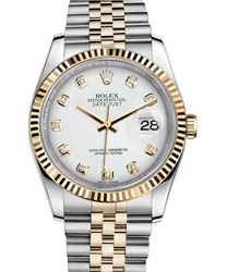 Rolex Datejust Men's Watch Model 116233-WHITEDIAM